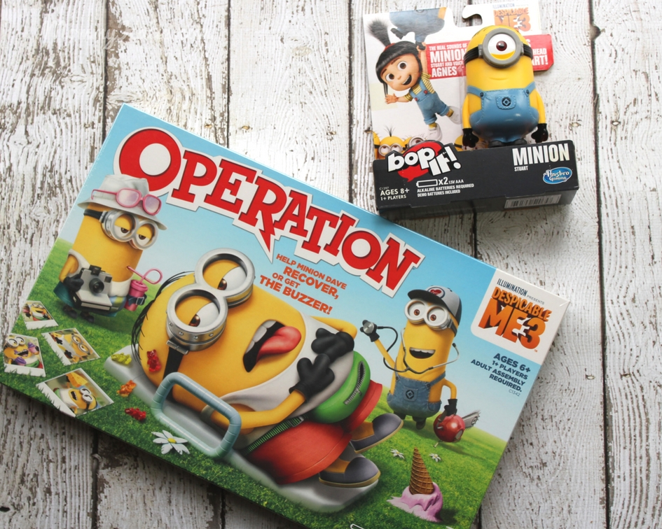 Giveaway Despicable Me 3 Hasbro Games Prize Pack - Mommy Katie