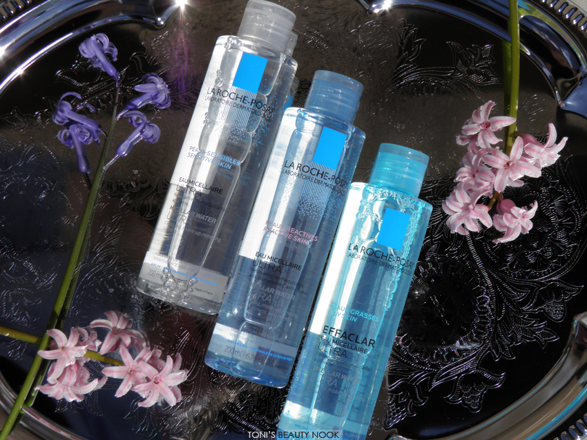 la roche-posay new micellar waters