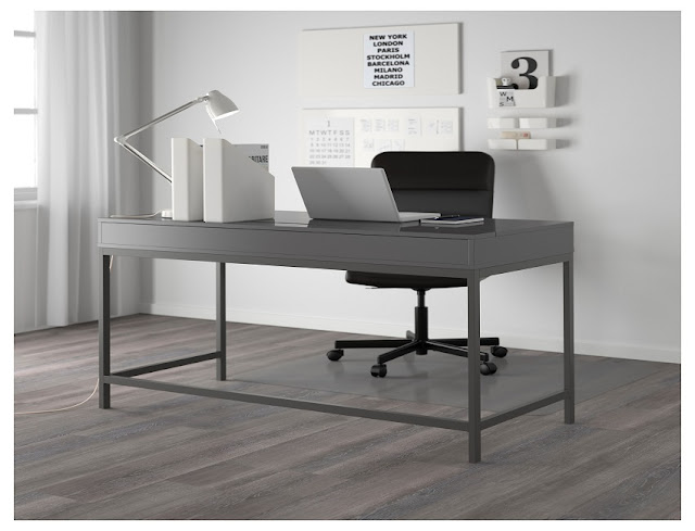 best buy ikea home office desk ideas grey for sale online cheap