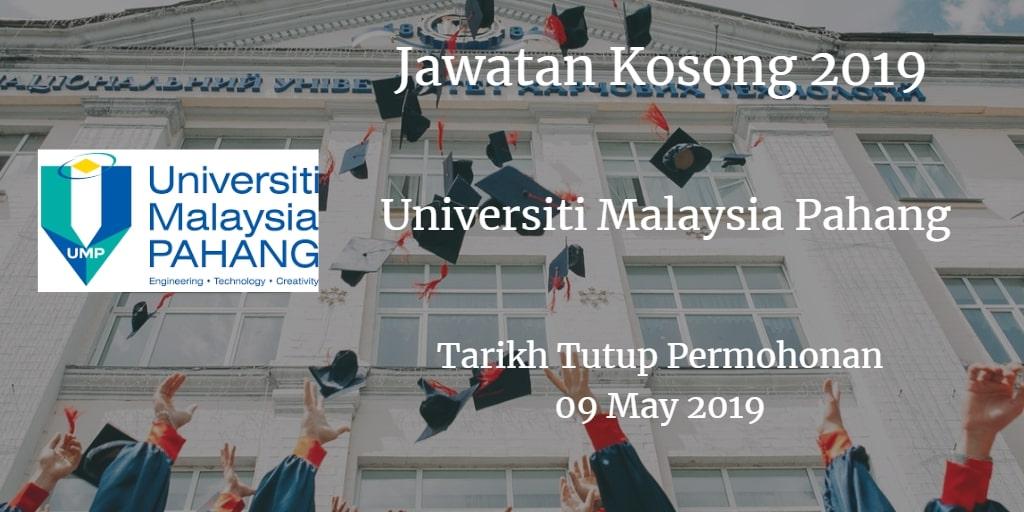 Jawatan Kosong UMP 09 May 2019