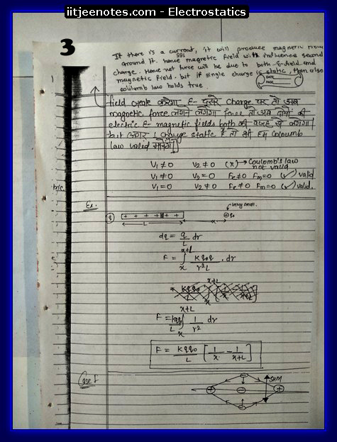 Electrostatics 3