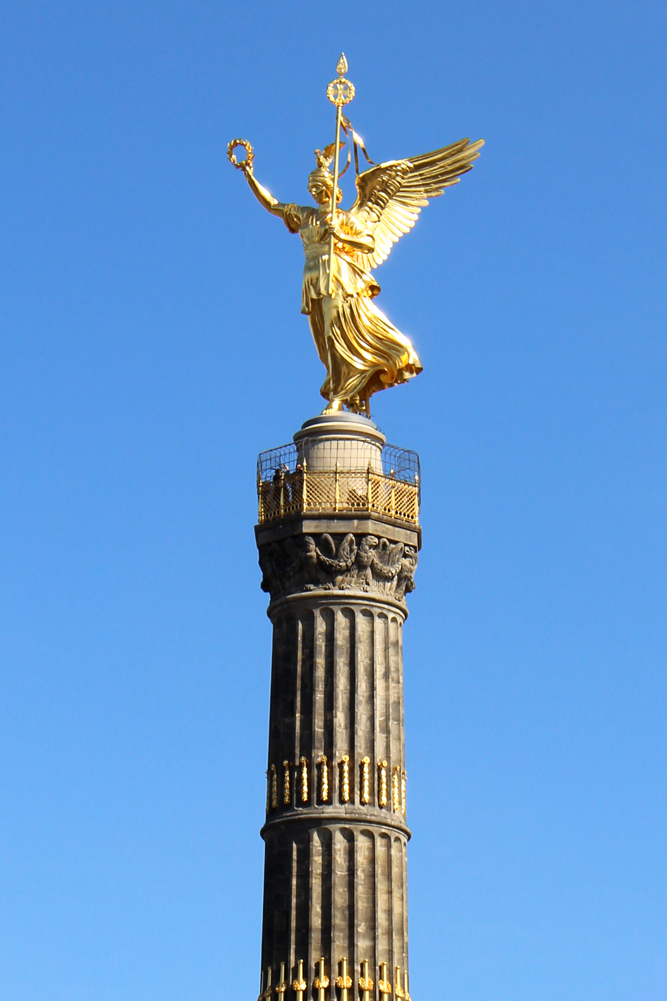 The Victory Column in Tiergarten, Berlin - travel & lifestyle blog