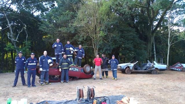 Bombeiros Comunitários de Roncador participam de treino intensivo