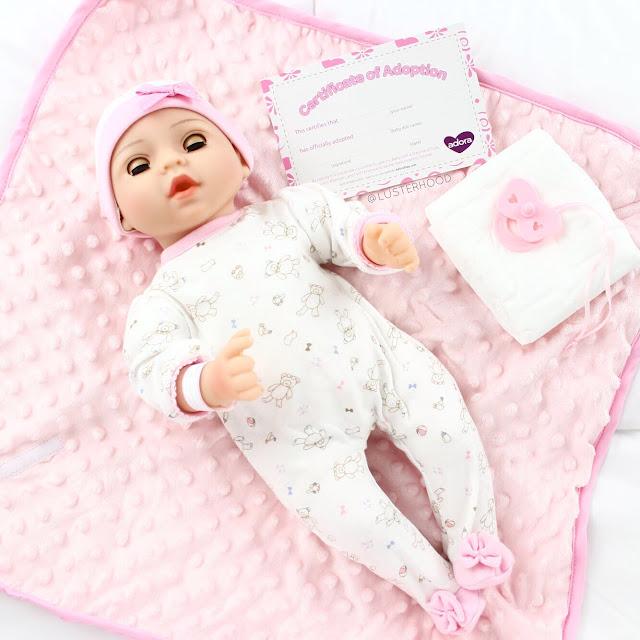 Adora Play Adoption Baby Cherish     Lusterhood