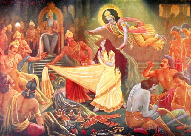 द्रोपदी एवी नारी हती जे भगवान श्रीकृष्णनां देवत्व सामे टक्कर लइ शकती हती Gujarati Article By Naresh K. Dodia