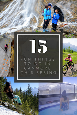 15 Fun Things to Do in Canmore This Spring pinterest pin
