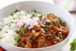 Slow Cooker Coconut Curry Lentils Recipe