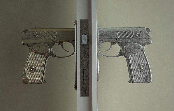 Creative Doorknob Band Bang Pistol