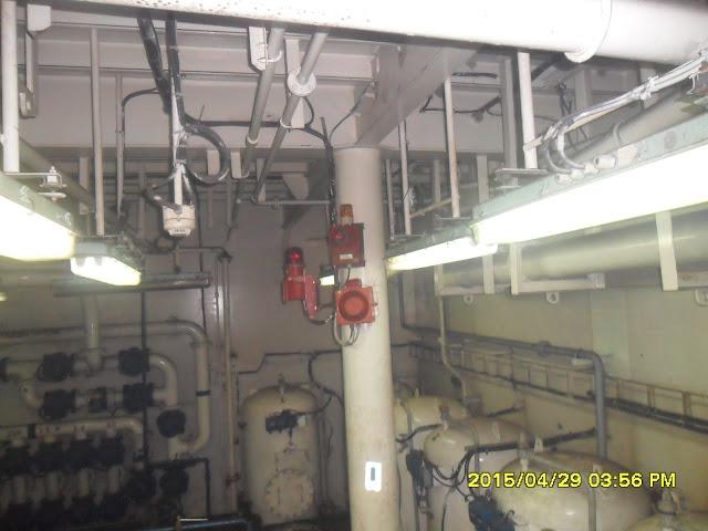 Fire Alarm Equipment Engine Room