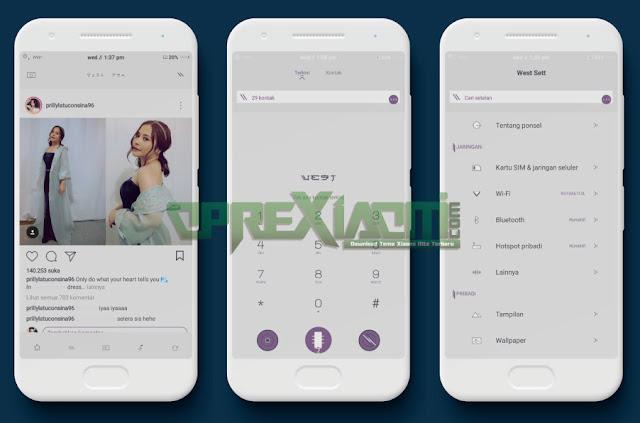 Download Tema Xiaomi West Sakura Mtz Update Terbaru