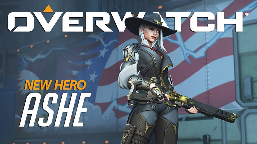 new overwatch hero ashe