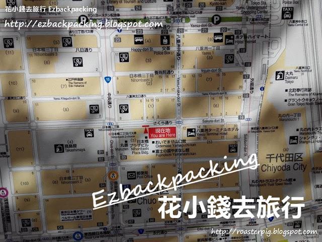 東京櫻花隧道地圖