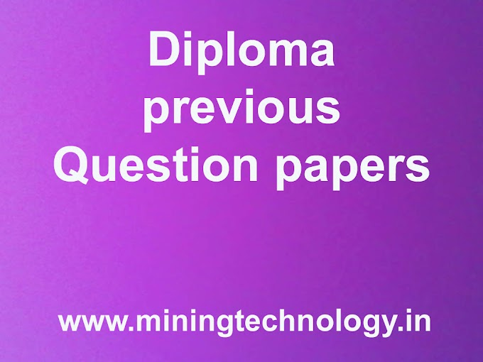 Diploma Question papers