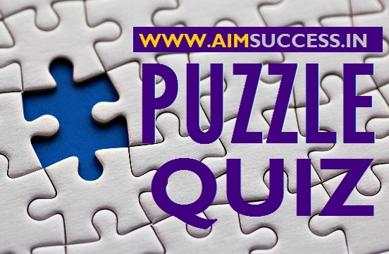 Puzzle MCQ for RRB PO/Clerk Mains 2018: 13 September