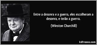 """Brasil Soberano e Livre: """"Entre a desonra e a guerra, escolhestes ..."""