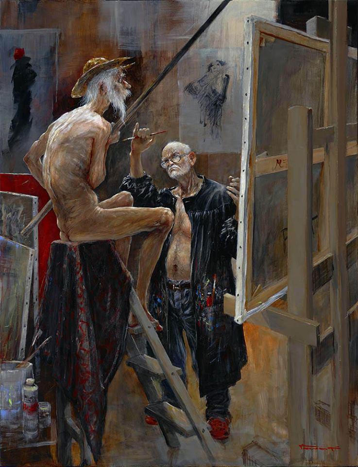 Marcel Nino Pajot Don Quichotte L Atelier