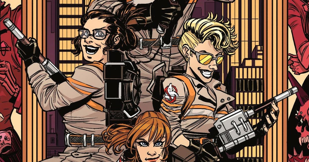 Ghostbusters All-female Character getting A Comic Issue From IDW Comic.