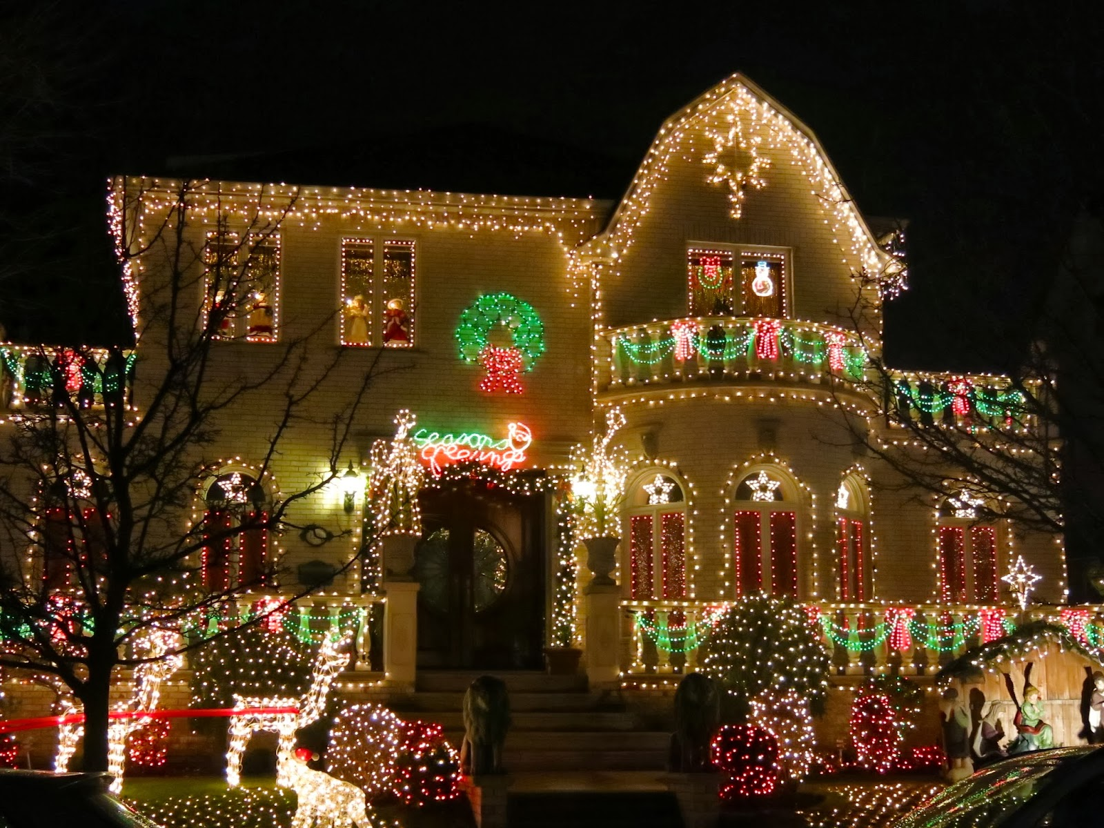 Dyker Heights i Brooklyn, New York