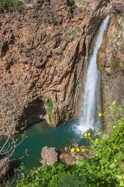 Cascata de Ronda, no Tajo, parte da Andaluzia, na Espanha.