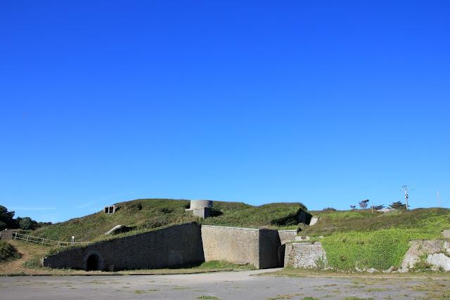 Le fort du Minou, à Plouzané.