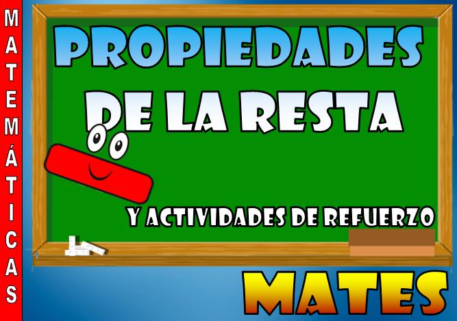 Propiedades de la resta y ejercicios de refuerzo [Matemáticas ...