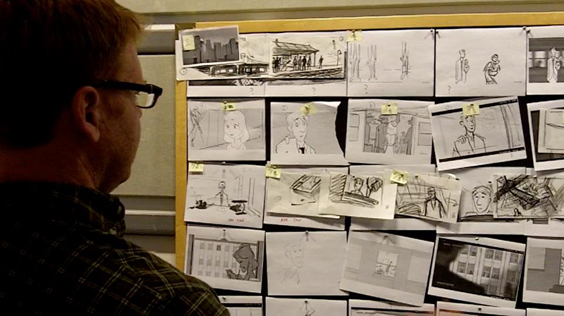 Disney's Paperman Animated Short