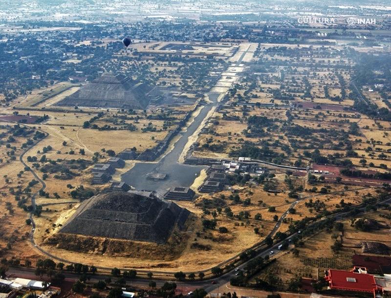 sitio arqueológico Teotihuacan