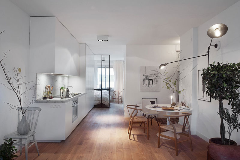 Arredare una casa piccola tra soluzioni salvaspazio luci e