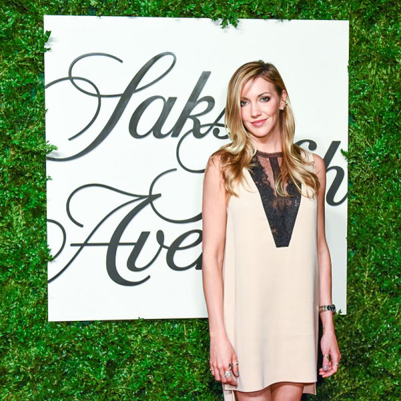 'Legends of Tomorrow' actress Katie Cassidy At Sask Fifth Avenue Downtown Store Opening In New York