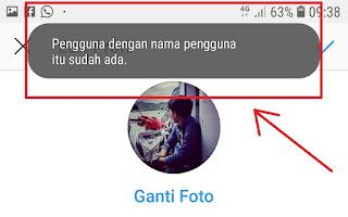 Cara Mengganti Nama Pengguna Instagram Yang Tidak Tersedia