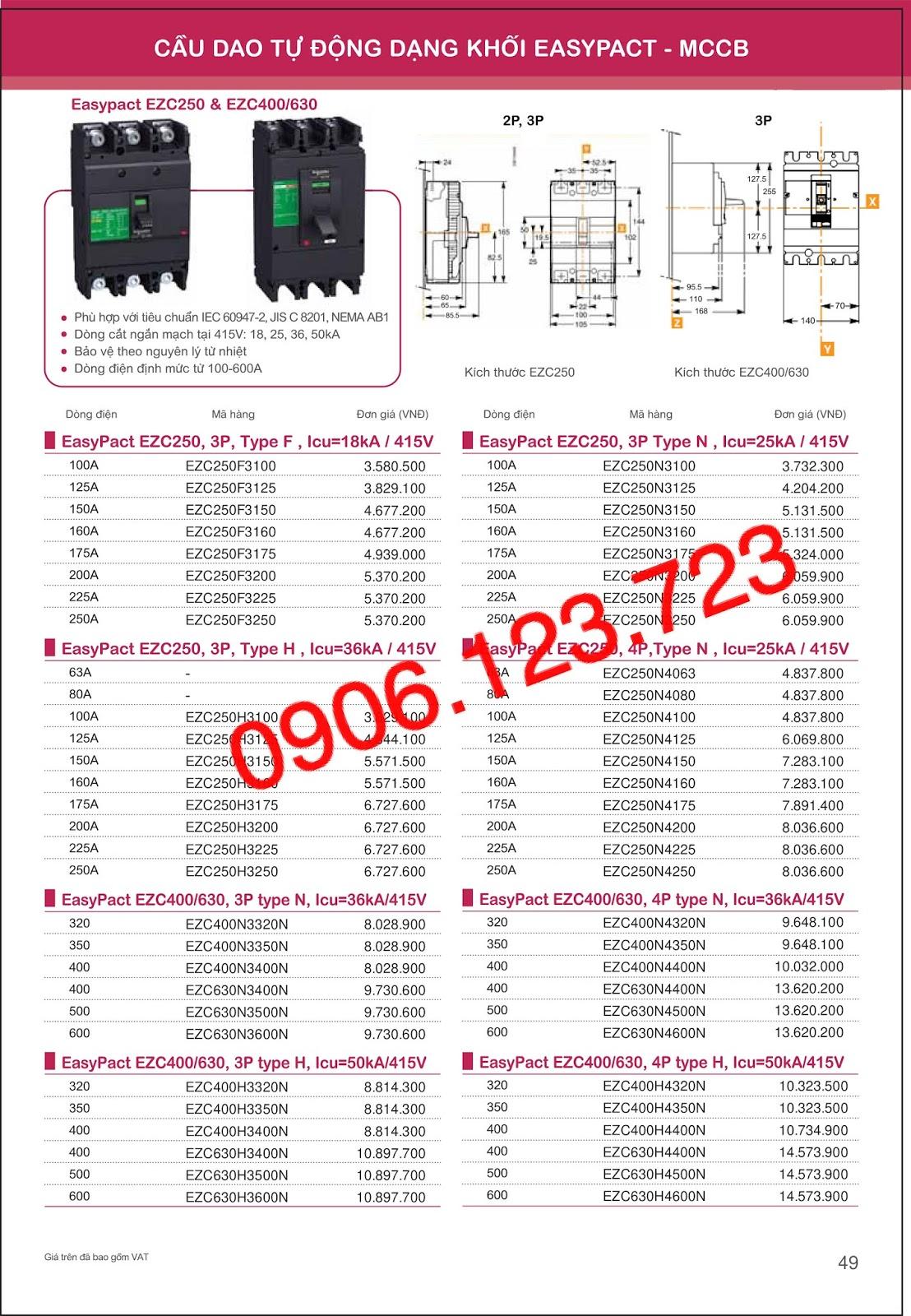 Schneider Mccb Catalogue 2019