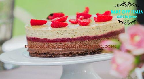 Torta melanzane e cioccolato ricetta Knam da Bake Off Italia 4