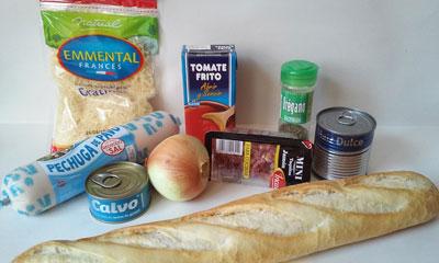 ingredientes paninis