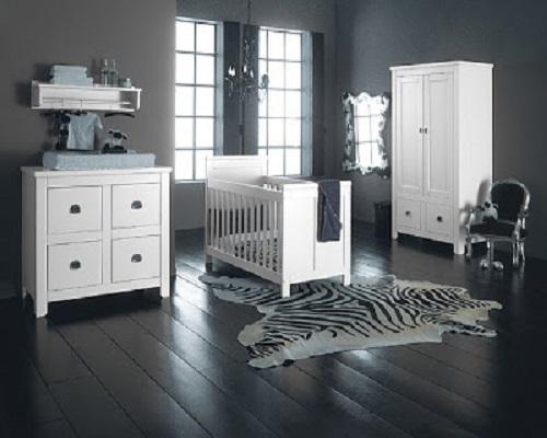 d coration chambre b b gris et blanc. Black Bedroom Furniture Sets. Home Design Ideas