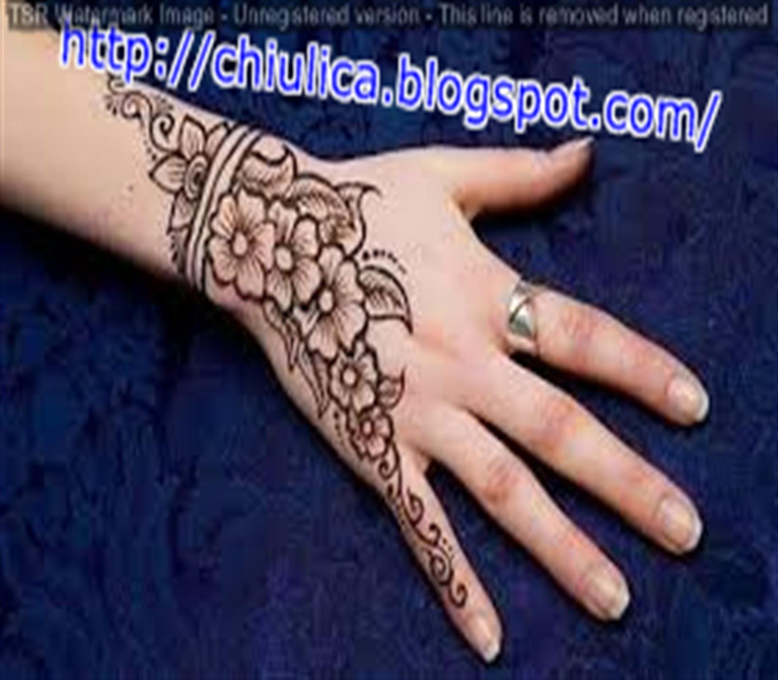 Teknik Menggambar Henna Atau Inai Tutorial Gambar Henna Dan Inai
