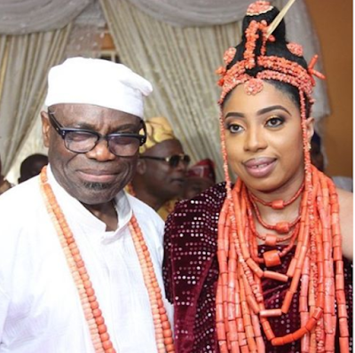 Wuraola Zynab Otiti new wife of Ooni of ife