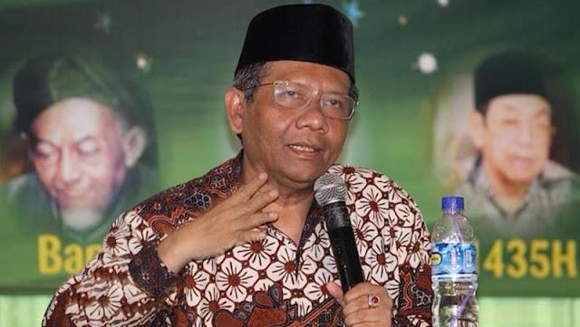 Imbas Pengakuan La Nyalla, Mahfud MD Sangkal Mahar di Bursa Pilgub