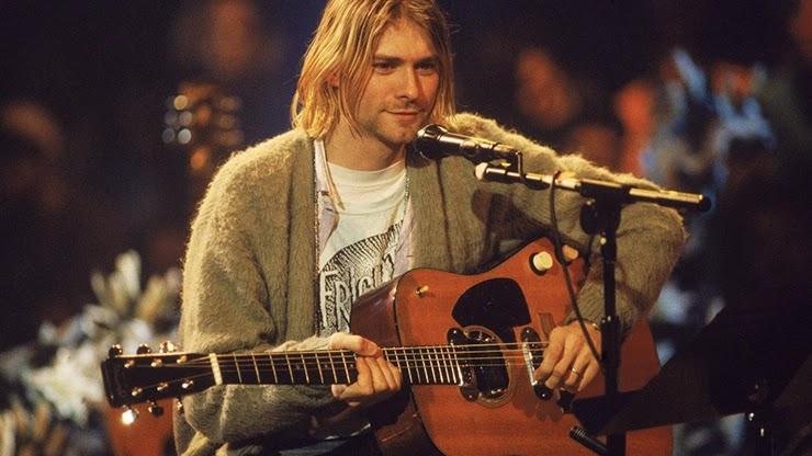 Самая дорогая гитара Курта Кобейна