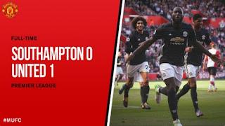 Video Gol Southampton vs Manchester United 0-1