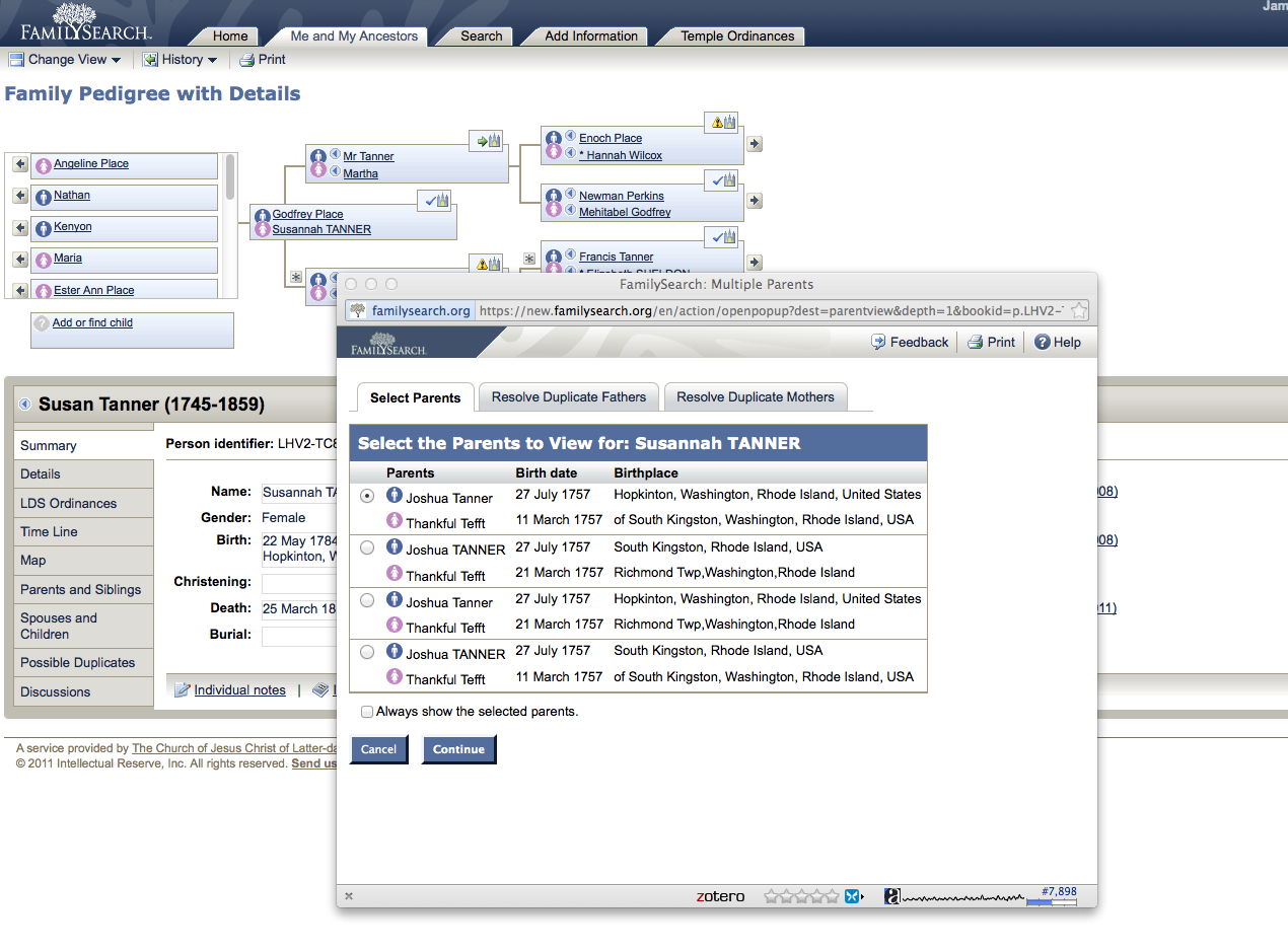Genealogy's Star: Hmm. A link between FamilySearch.org and ...  Genealogy's...