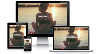 grapvista blogger template theme