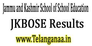 JKBOSE Results 2017 Class 10th / 12th Bi-Annual