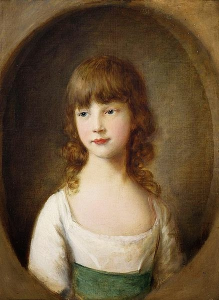 Princess Mary by Thomas Gainsborough, 1782