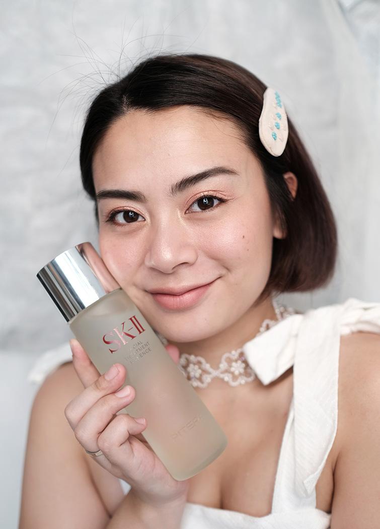Hasil maksimal penggunaan SK-II Facial Treatment Essence