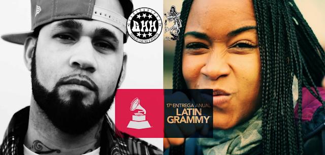 El Hip Hop en los Grammys Latino, Arianna Puello y El B fueron nominados