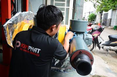 Sửa máy thổi khí