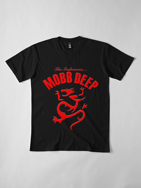 THE INFAMOUS MOBB DEEP TSHIRT