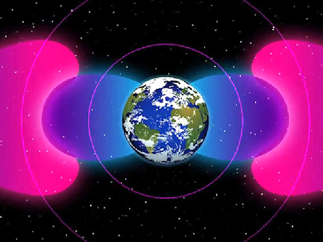 Bolha de radiação ao redor da Terra