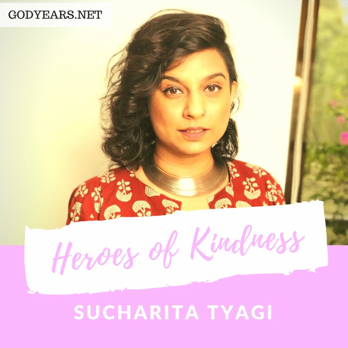 When Radio jockey Sucharita Tyagi heard the pitiable plight of one of the winners of a contest she had held, she chose to intervene and make a positive impact