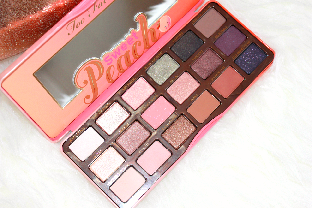 Too Faced Sweet Peach Eyeshadow Palette Review Swatches